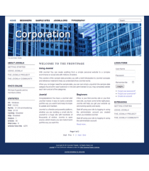 Free joomla 2.5 template with slideshow: a4joomla-corporation-free